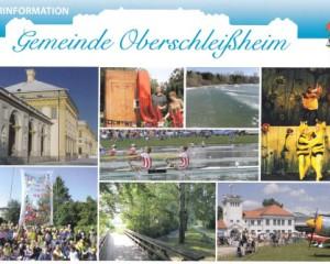 Grafikdesign Broschüre: Bürgerinfo Oberschleißheim