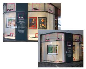 Schaufenstergestaltung PGM München