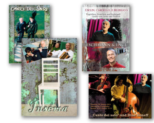 Grafikdesign Karten, Plakate, Flyer: canto dei sass