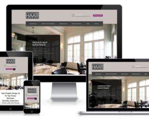 Webdesing: Haar-Projekt, Ralf Islinger, München