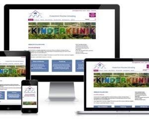 Webdesign CMS Typo3: Kinderklinik München