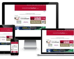 Programmierung Website & Webdatenbanken: Münchner Kultur GmbH