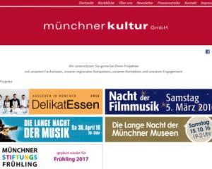 Münchner Kultur GmbH, Lange Nacht der Museen, etc.