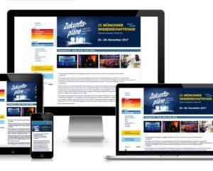 Webdesign: Münchner Wissenschaftstage