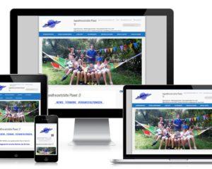 Webdesign: Jugendfreizeitstätte Oberschleißheim b. München