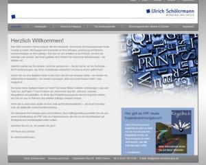 Ulrich Schölermann, Werbung und Druck, Hamm