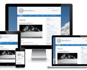 Webdesign: Verein Skiclub Schleißheim