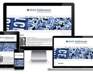 Webdesign: Schölermann Werbung und Druck, Hamm