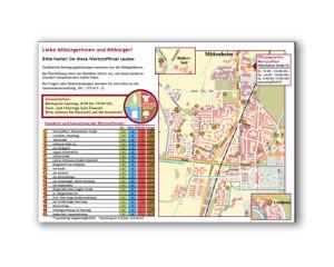 Grafikdesign-Wertstoff-Tafeln Oberschleißheim