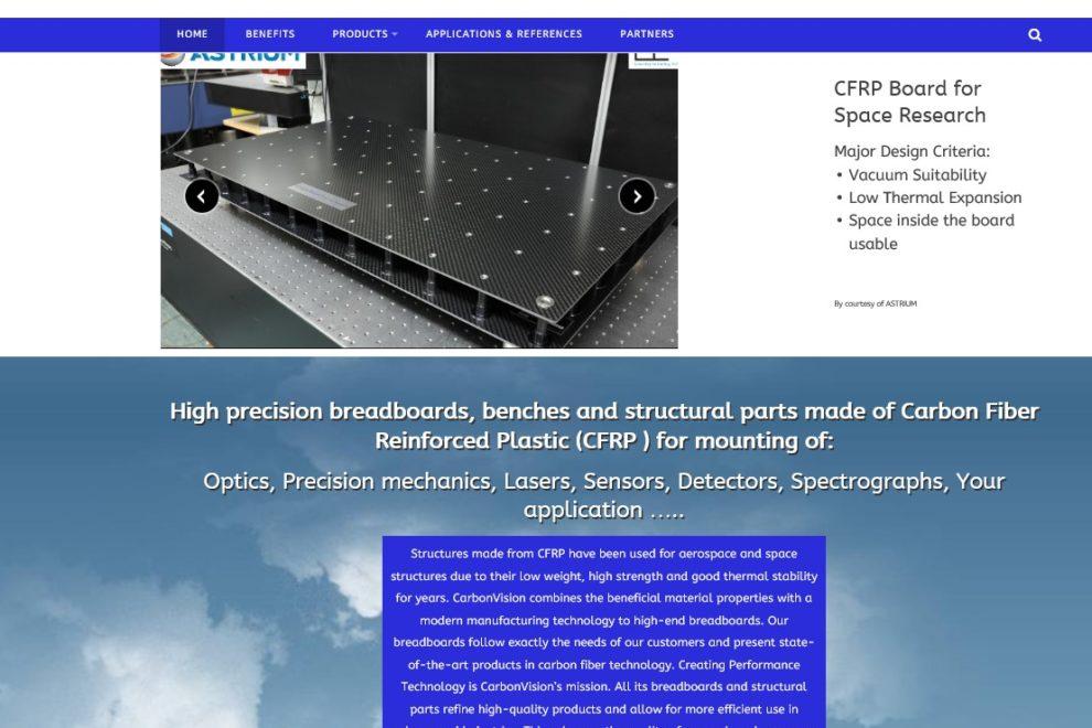 Neue Website für Industriekunden