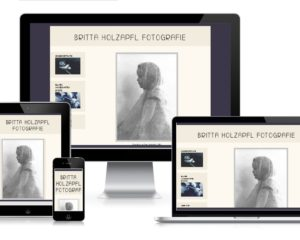 Responsive Website: Holzapfl Fotografie, Vaterstetten