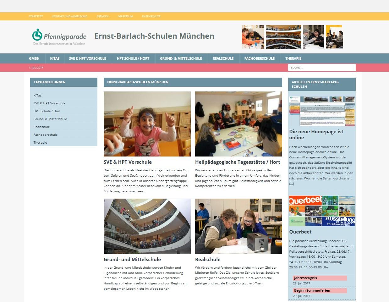 Ernst-Barlach-Schulen der Stiftung Pfennigparade, München