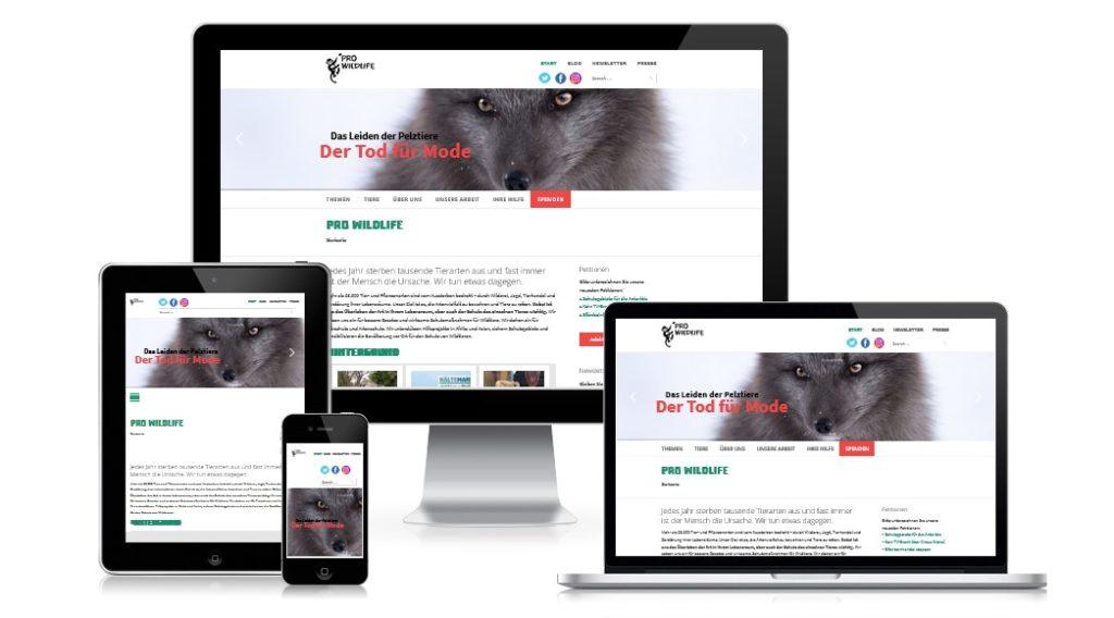 Tierschutzorganisation Pro Wildlife München