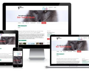 Neugestaltung Website: ProWildlife München