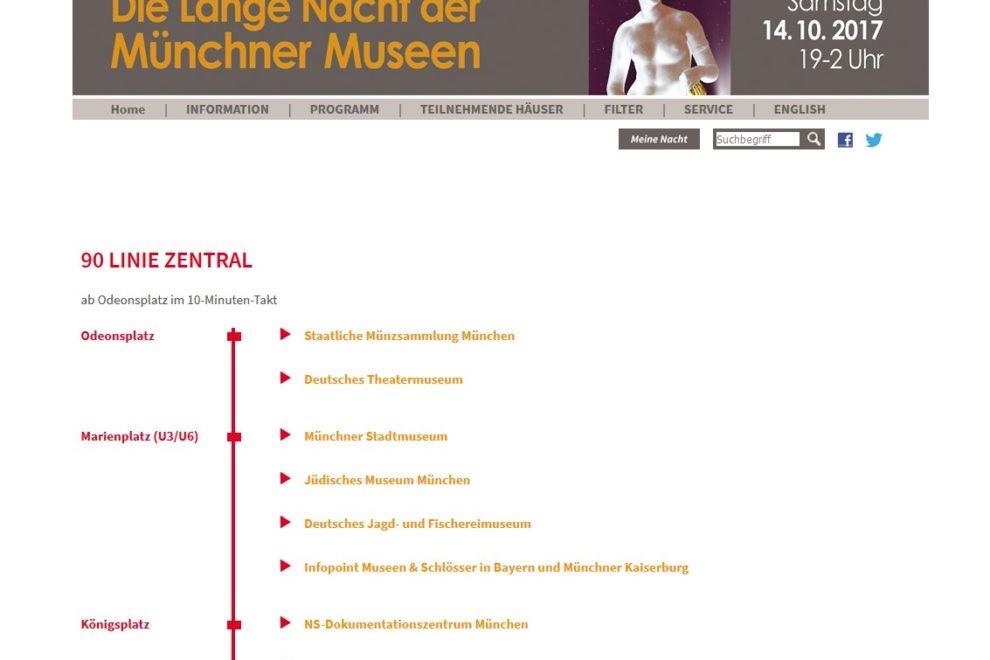 Lange Nacht der Museen in München