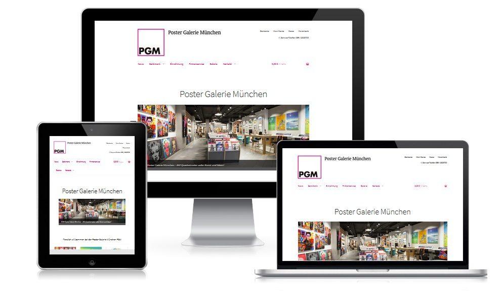 Webshop für den Online-Handel
