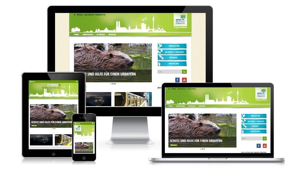 Internetauftritt für größten Naturschutzverband