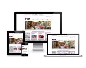 WEBDESIGN  |  Bildschirm – Smartphone – Tablet